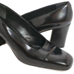 Shoes - Patent Leather Heels Via Spiga 10 black vintage